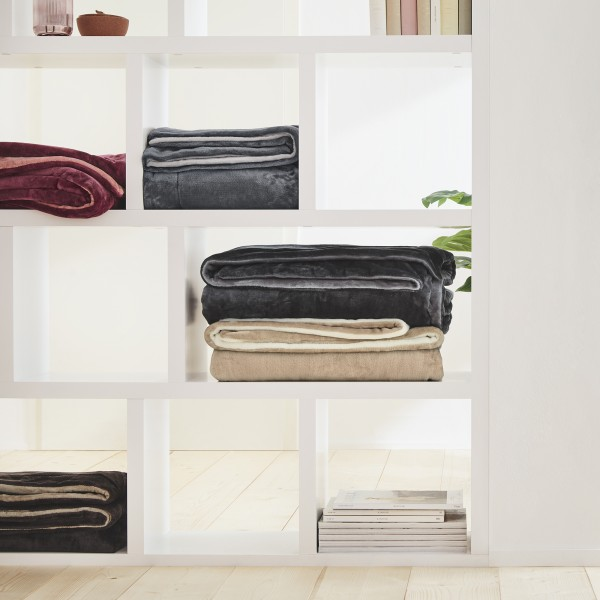 double soft Decke s.Oliver 3101