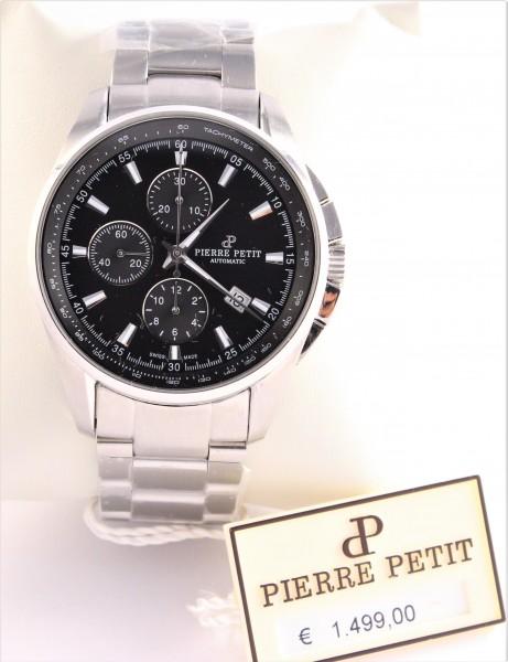 Pierre Petit Chronograph Automatik Herren-Armbanduhr XL Le Mans P-824A